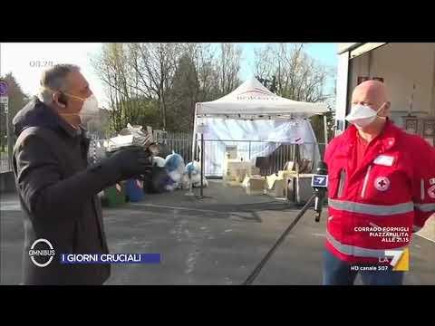 Coronavirus, Maurizio Bonomi (Croce Rossa Bergamo): 'I mezzi non riescono a fermarsi, state a ...