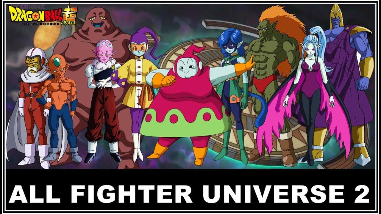 Dragon Ball Super All Fighter In Universe 2