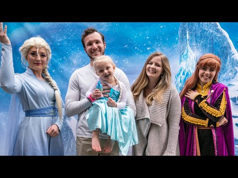 JUNIPER'S 3RD BIRTHDAY!! Frozen Themed Birthday Party With Elsa And Ana!