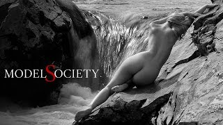 How to see nude models as natural works of art. Naked humanity in nature.