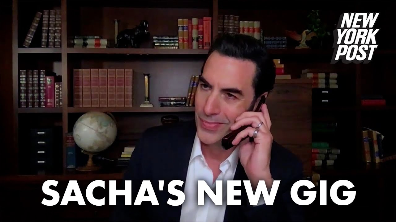 Is Sacha Baron Cohen dealing COVID-19 vaccines to his A-list pals?