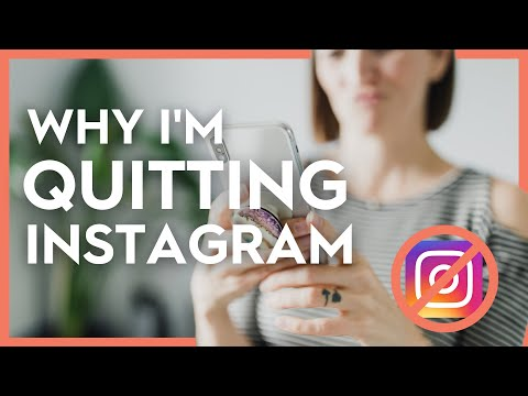 I'M DELETING INSTAGRAM | My Issues With the Algorithm, ROI, Privacy (Instagram For Business)