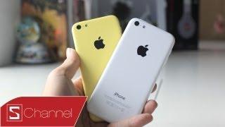 Schannel - Mở hộp iPhone 5C: Thiết kế cứng cáp, nhiều màu sắc - CellphoneS