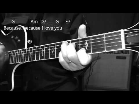 Because with Chords and Lyrics - Dave Clark Five