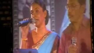 GEETH MADHURI MUSICAL SHOW 2010      YEH MAUSAM RANGEEN SAMA THHER JARA O JANEJA