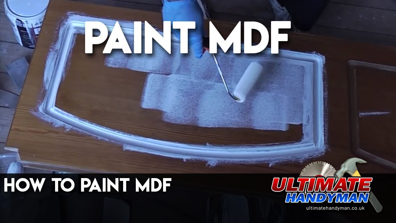 How to paint MDF  YouTube