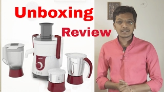 Philips HL 7715 Juicer Mixer Grinder Unboxing & Review || Best JMG in India