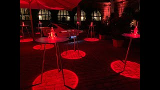 LED Table  - Event Table Impressions