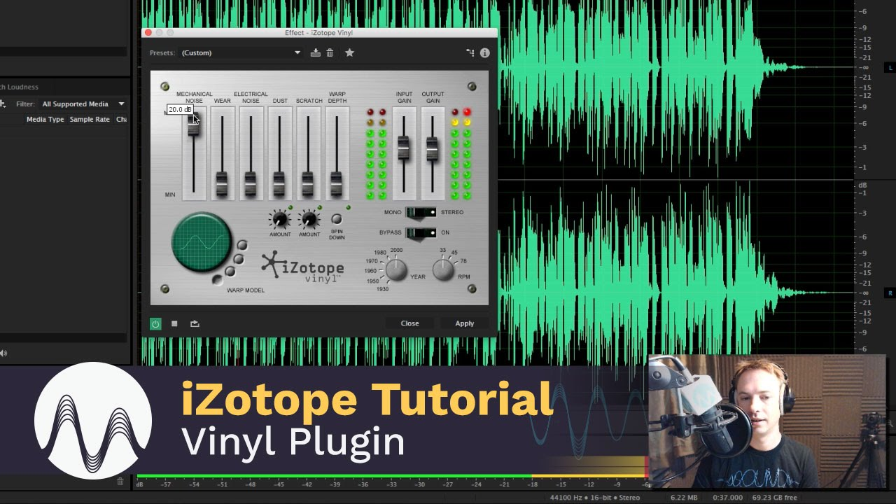 iZotope Vinyl Tutorial