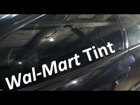 How To Walmart Tint Your Windows | Subaru Outback XT