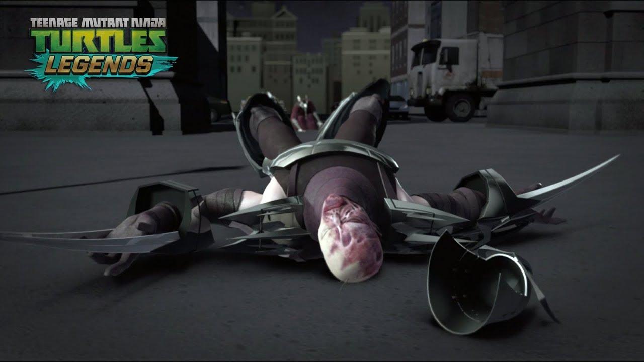 Shredder Is Dead Teenage Mutant Ninja Turtles Legends Youtube