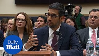 Google CEO explains why 'idiot' search term elicits Trump image