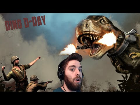 THIS GAME IS RIDICULOUS! | Dino D-Day Randomness |