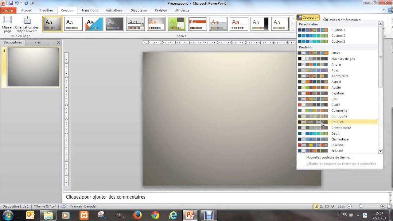 Cr er une affiche avec powerpoint 1 l 39 arri re plan youtube - Faire un poster avec plusieurs photos ...