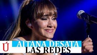 El concierto de Aitana que indigna a su fans y enciende las alarmas