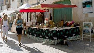 Markt in Pollenca (Mallorca)