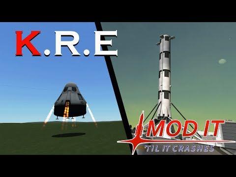 Kerbal Space Program Mod Showcase: Kerbal Reusability Expansion