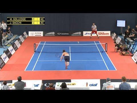 Golledge vs Saachi £1000.00 touchtennis Match Masters Cup 2017
