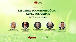WEBINAR - Nova lei do Agronegócio