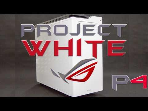 PROject WHITE - задняя (боковая) панель - надпись и логотип