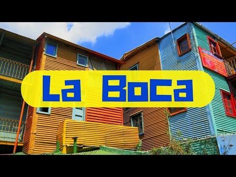 A tour of La Boca Barrio (Caminito) in Buenos Aires, Argentina