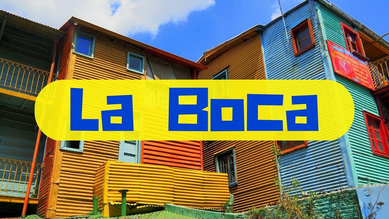 A tour of La Boca Barrio (Caminito) in Buenos Aires, Argentina ...