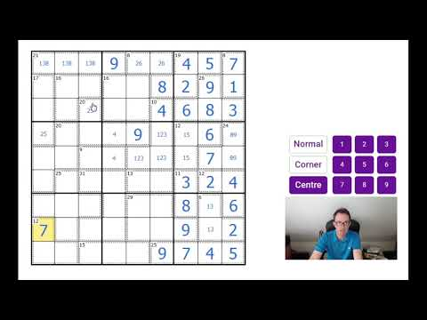 A Killer Sudoku To Test The Best - YouTube
