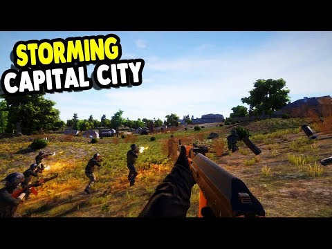 ALL NEW ARMY Captures CAPITAL CITY | Mount & Blade + ArmA | Freeman: Guerrilla Warfare Gameplay