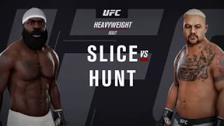Kimbo Slice vs Mark Hunt - Stand and Bang - UFC 3