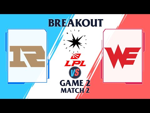 RNG vs WE - Wild Rift League 2022 - Game 2