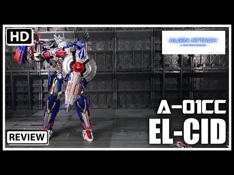 Alien Attack Toys A-01CC EL CID Transformers AOE/TLK Optimus