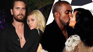 How Scott Disick & Sofia Richie, Kim Kardashian & Kanye and Other Celebs Spent Valentine's Day