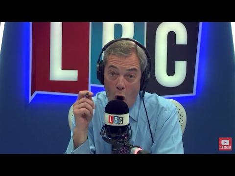 The Nigel Farage Show: Sweden. Live LBC - 11th April 2017