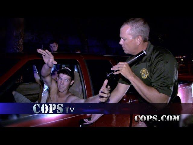 Say Ahh, Deputy Dilling, COPS TV SHOW