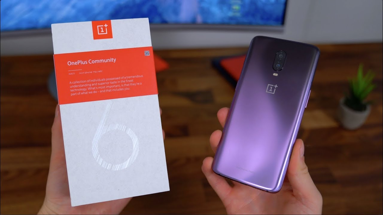 oneplus 6t giveaway oneplus 6t thunder purple hands on and giveaway youtube 7802