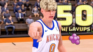 TJass Has a 110 Layup Rating In 2K! FIRST EVER 2K19 TJass Official Gameplay!