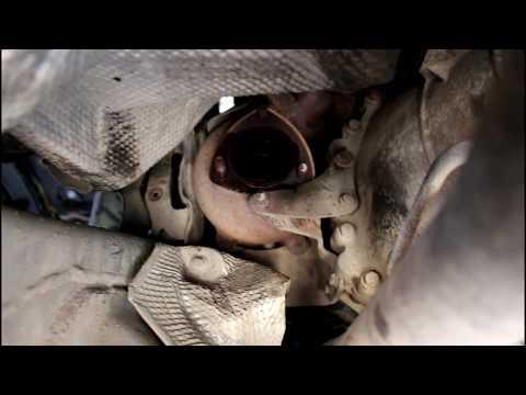 Снимаем турбину не отделяя кузов от рамы  1часть  Land Rover Discovery 3 Ленд Ровер Дискавери 3 2006