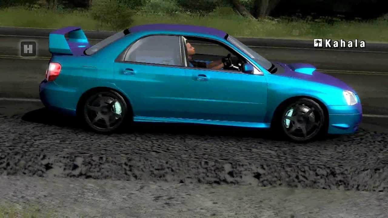 Test Drive Unlimited Subaru WRX STi Cruise - YouTube
