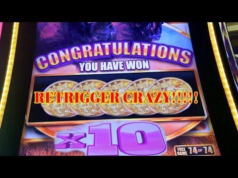 ★ BUFFALO GRAND ★ BIG BONUS WINS ★ RETRIGGERS FOR DAYS ★