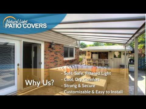 Natural Light Patio Covers - May promotion