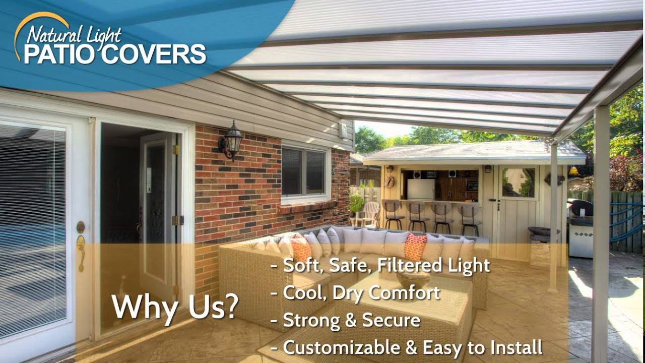 Natural Light Patio Covers   May Promotion