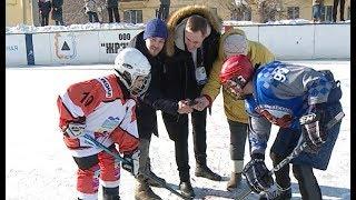 Турнир Вернем хоккей во дворы в Магнитогорске