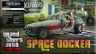GTA V Online Veiculos Raros - Como PEGAR o Space Docker Comigo ( Carro Alien ) [ GTA 5 MULTIPLAYER ]