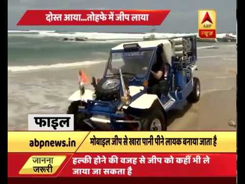 Israel PM Benjamin Netanyahu to gift water desalinisation and purification jeep to India