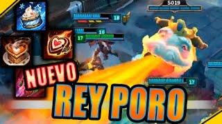 NUEVO Rey Poro, CAMBIOS y gameplay | Noticias League Of Legends LoL