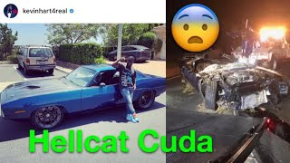 Kevin Hart in Hospital After Crash! Hellcat Powered 1970 Barracuda