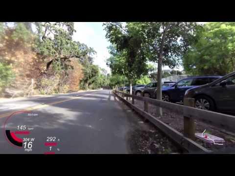 Menlo Park - Alpine - Arastradero - Los Altos Hills - Campbell (2014-06-25 evening)
