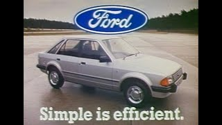 Escort MK3 launch Ad
