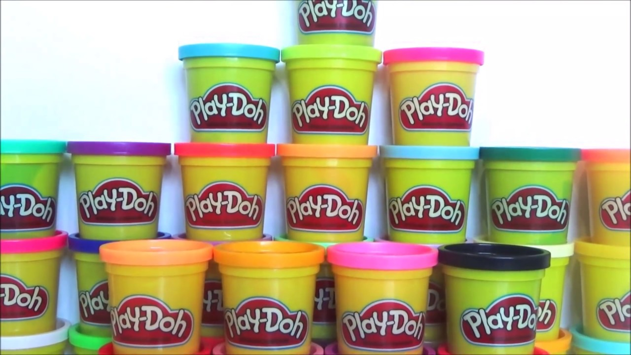 playdoh mega pack unboxing 36 colors youtube