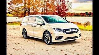 The 2019 Honda Odyssey Elite. Performance Test